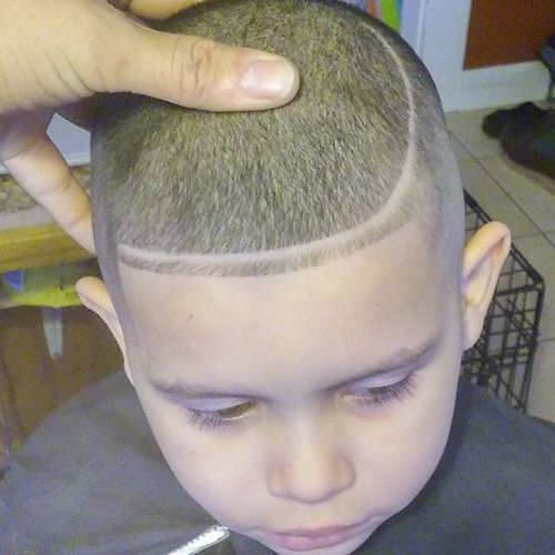 Short High and Tight with Design