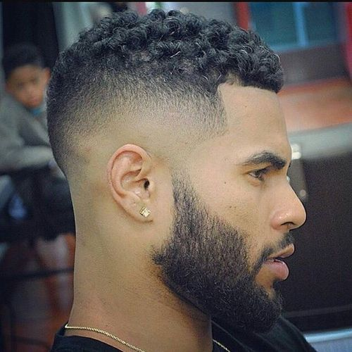 Tapered Fade for Black Men