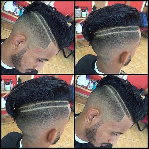 Fade with Double Line