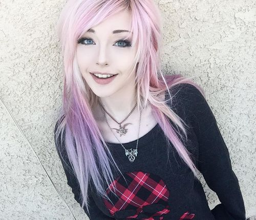 emo hairstyles for thin hair