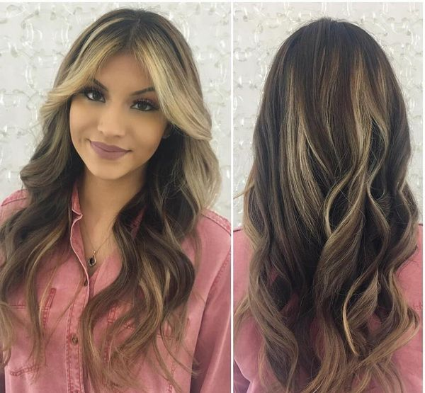 Fascinating Balayage Haircut to Accent the Glory of the Ladies