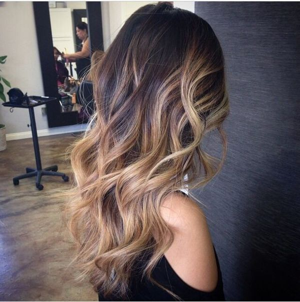 The Far Fetched Amalgam Of Curly Hair And Balayage