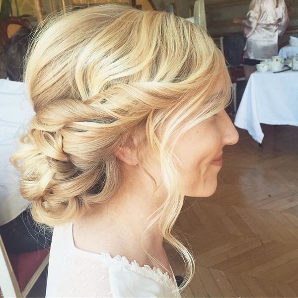 Low Chignon Romantic Hair