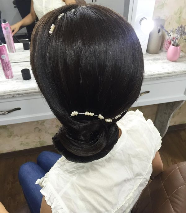 Sleek Formal Side Bun