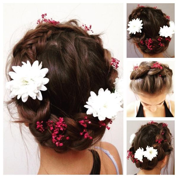 Braided Bun Hairstyle Extraordinary And Ordinary