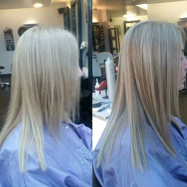 Hair Bonds Resolution for Straight Flawing Hairstyle
