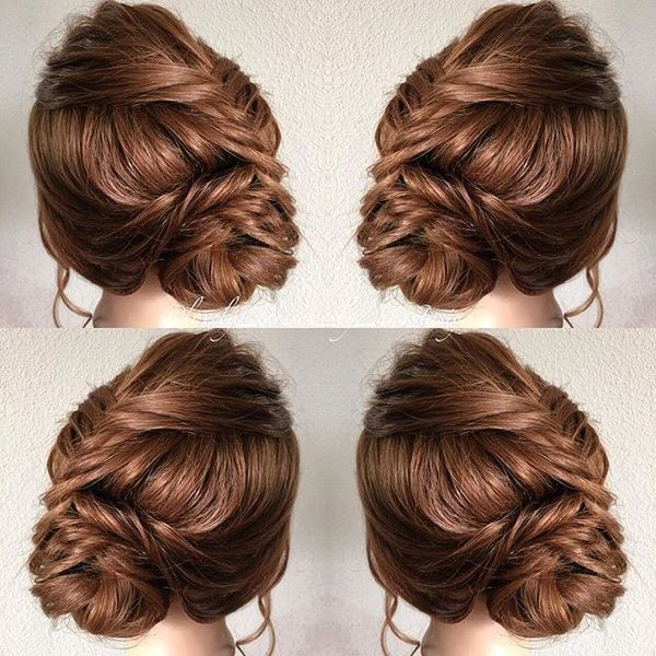 Soft Fishtail Updo
