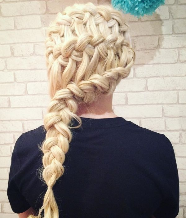 Stunning Blonde Braid