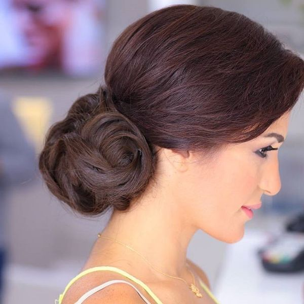 Low Volume Chignon with Fabulous Texture