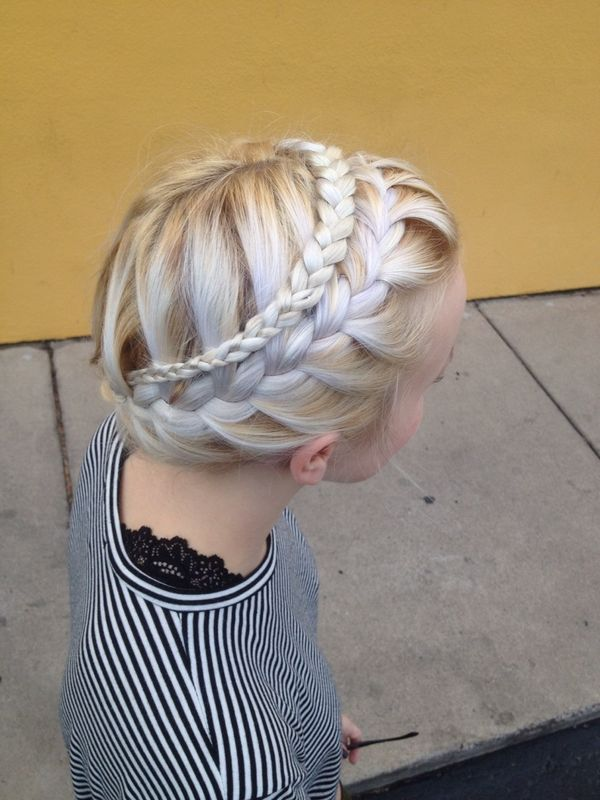 Double braided milkmaid
