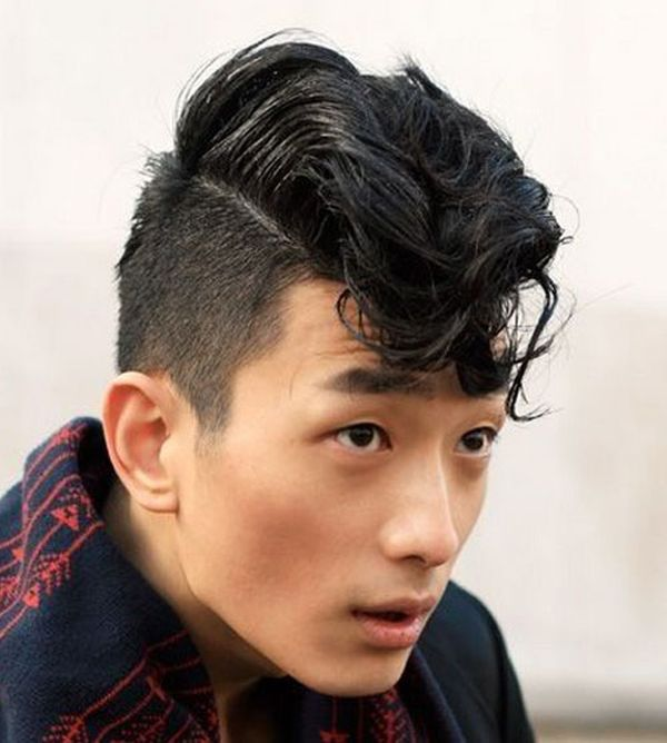 1 Undercut with long hair on the top