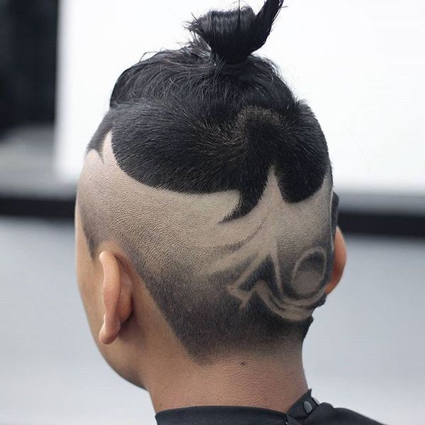 Waves And Buns Hairstyle