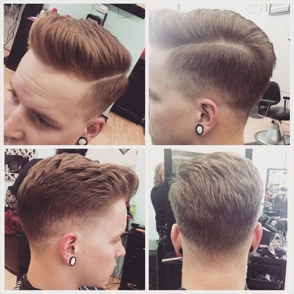 Low Fade Sides and Back