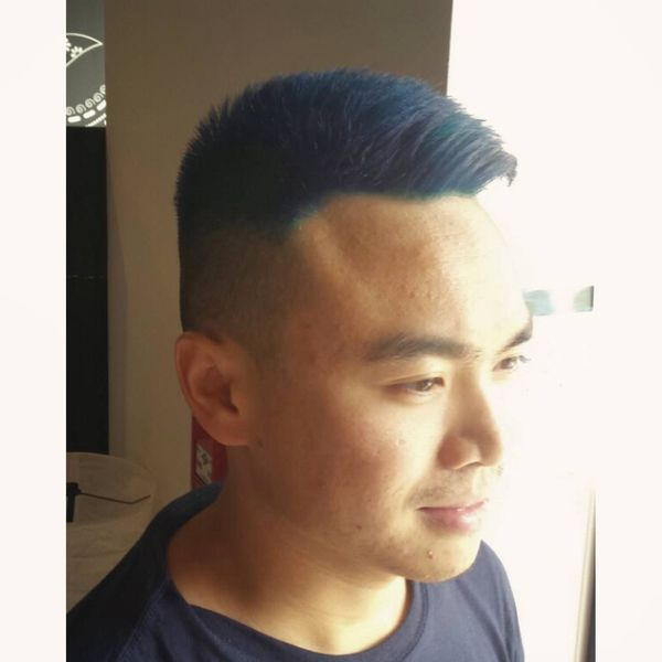17 Bright blue coloring