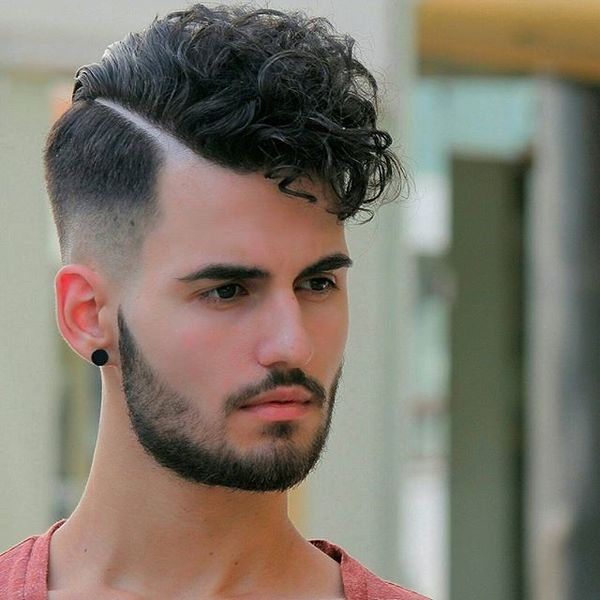 Creative Curly Cut And Style