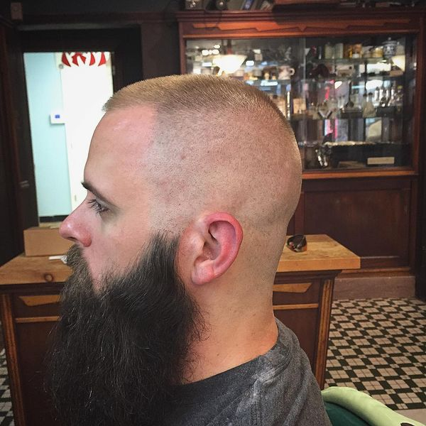 5 Short cut with a long beard