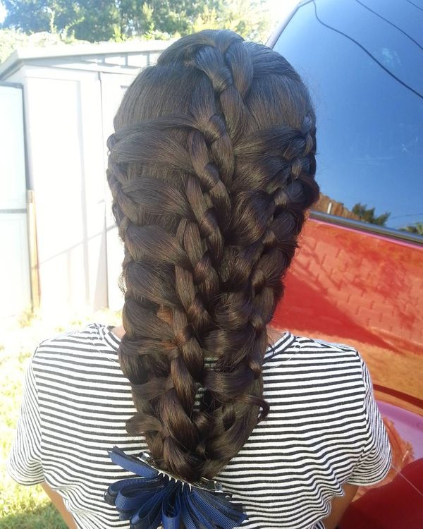 There united braids in exciting option