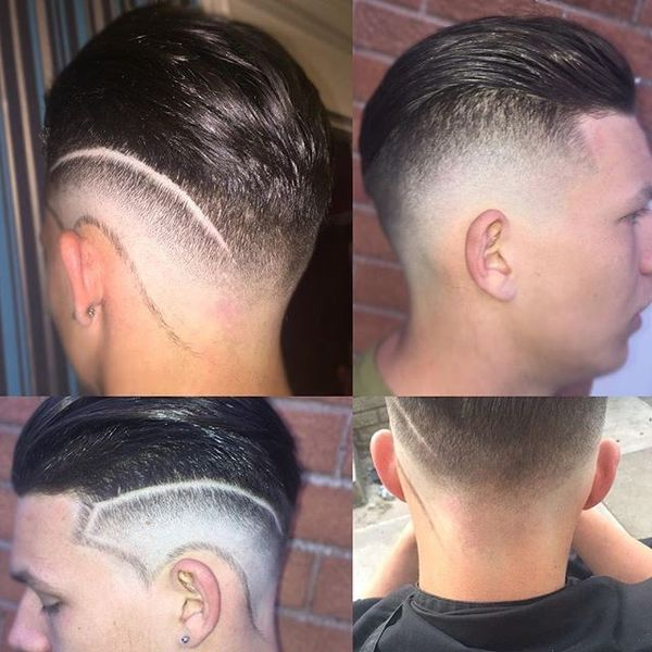 Skin Fade Transition Part