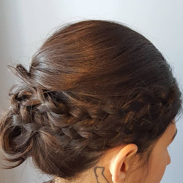 Attractive Updo for Short Hair0