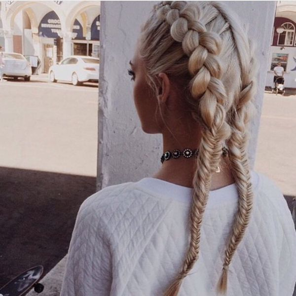 From Terrific Volume into a Tight Fishtail