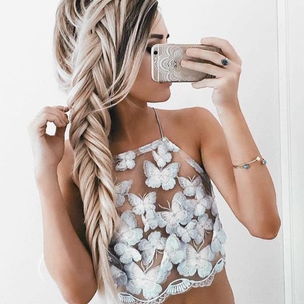 Loose and Messy Fishtail Braid