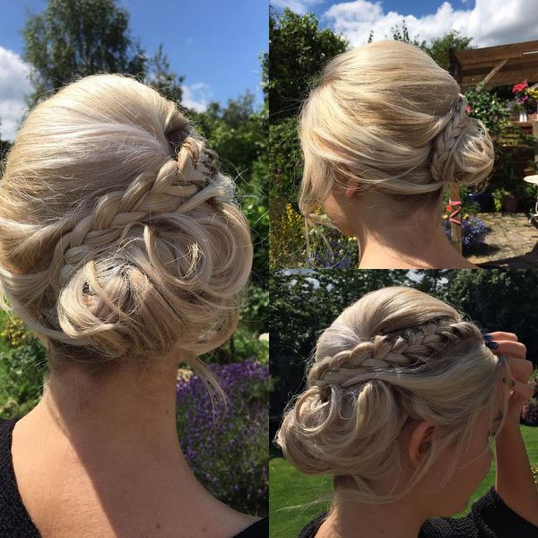 Messy Side Chignon