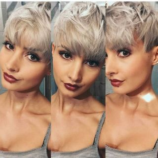 Straight & Smooth Bangs for the Pixie123