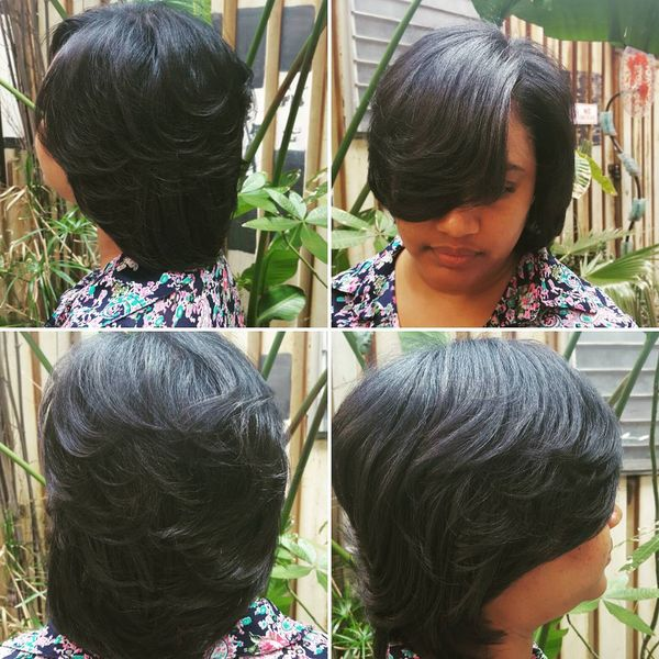 Stunning Multilevel Bob with Soft Waves1