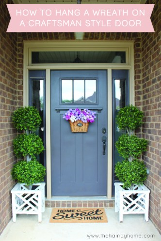 How-to-hang-a-wreath-on-a-craftsman-door