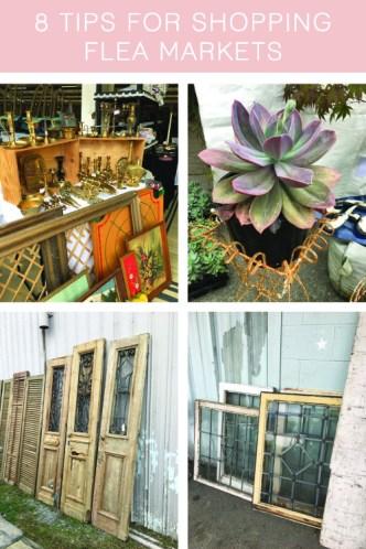 8 tips for shopping flea markets