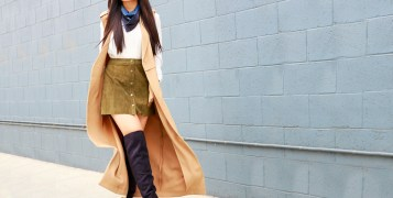 falda en invierno