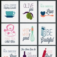 Fabulous & Free Kitchen Printables