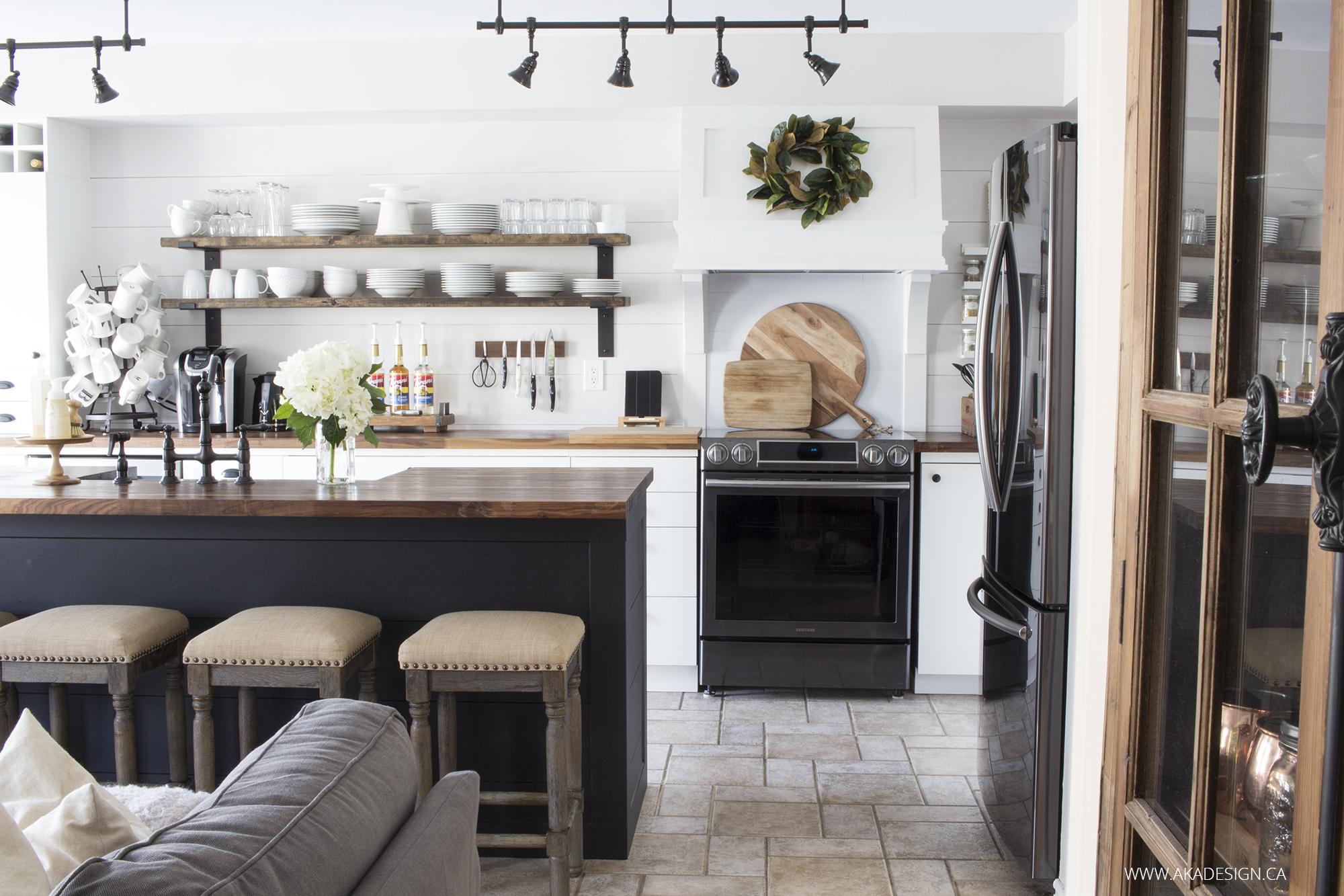 Fullsize Of Gray And White Kitchen