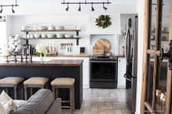 Small Of Gray And White Kitchen