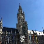 Munich. Glockenspiel.