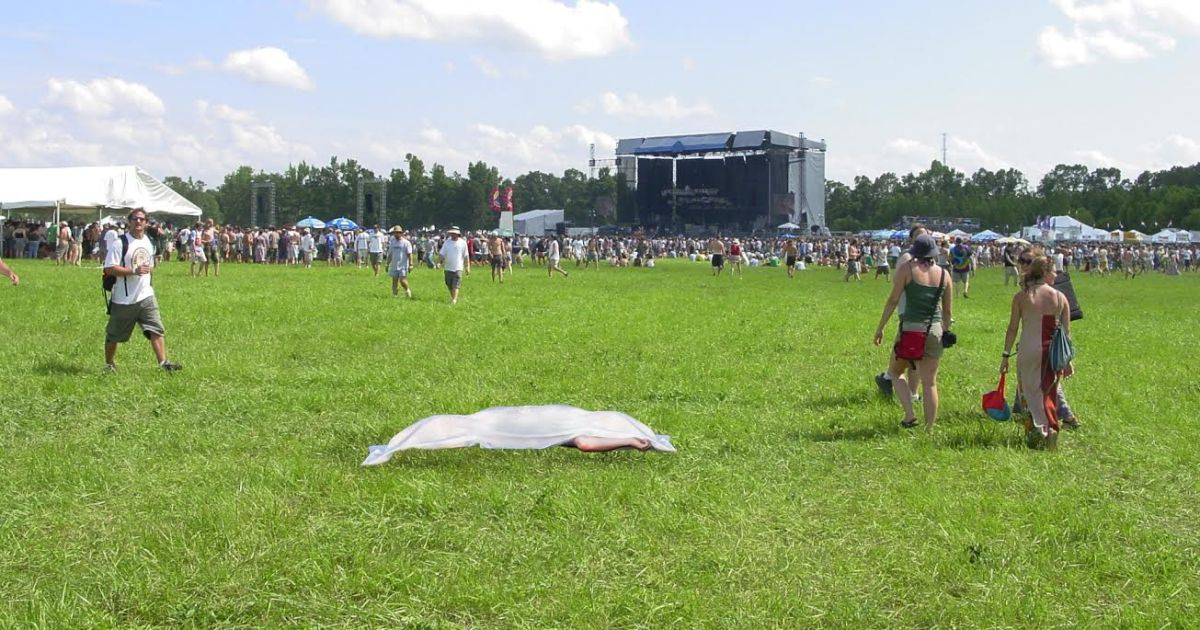 Bonnaroo Flu Claims Six More Barely Clothed, Drug-Addled Victims
