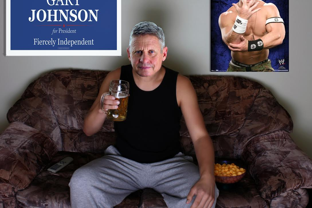 Gary Johnson Announces Plans to Watch Monday Night Raw