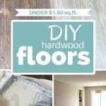 DIY Hardwood floors under $1.50/sq ft.
