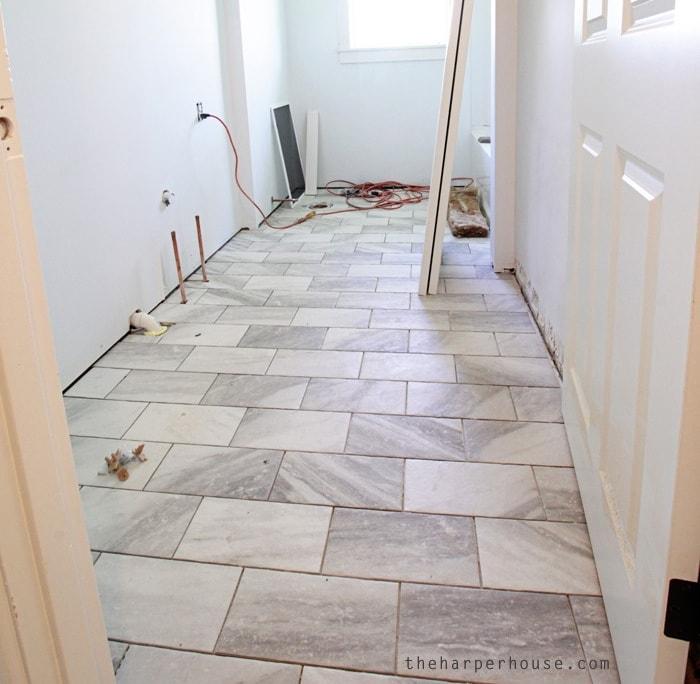 Flip House: Hall Bath Updates