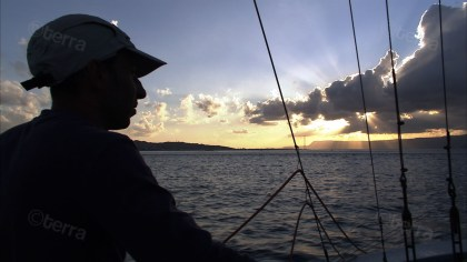 Giuseppe in barca alba