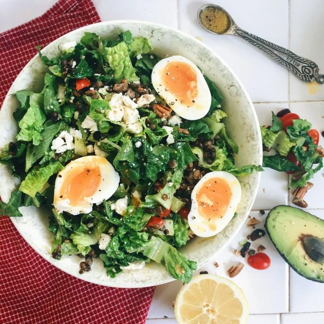easy lentil salad