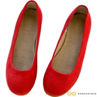 BALLERINAS HEMP BALLET FLATS (NATURAL RUBBER SOLE)