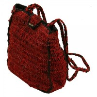 Hemp Box Style Shoulder Bag