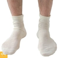 FAIRFIELD UNISEX ELASTIC-FREE 100% ORGANIC HEMP DRESS ANKLET SOCKS