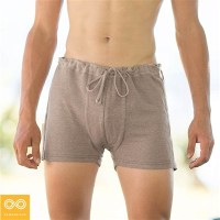 LISZT ELASTIC-FREE 100% ORGANIC FRENCH LINEN BOXERS