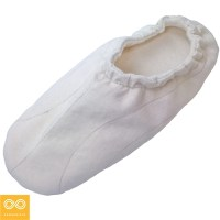 SATIE GLUE-FREE ORGANIC COTTON FLEECE SLIPPERS