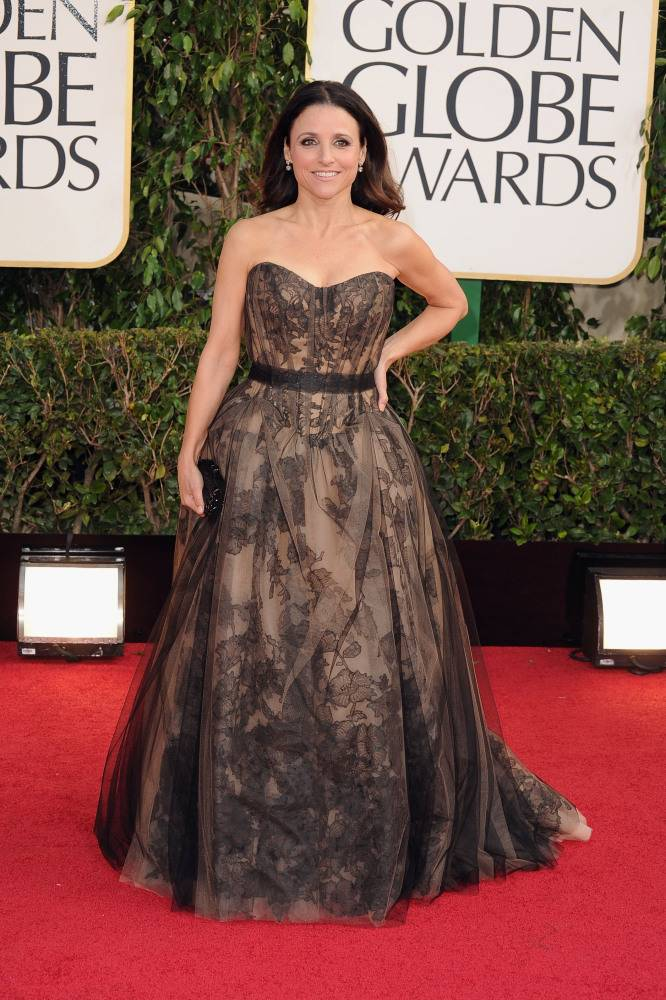 julia louis-dreyfus golden globes 2013