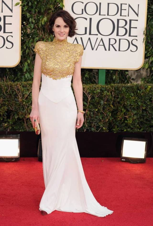 The He Said She Said Experience- Best Dressed 2013- Michelle Dockery in Alexandre Vauthier 2013 Golden Globes