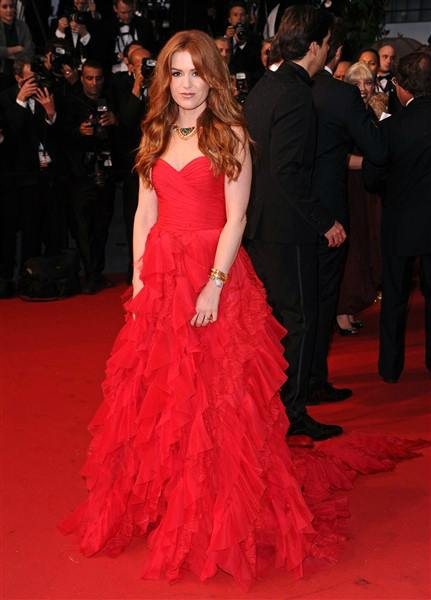 The He Said She Said Experience- Best Dressed 2013-Isla Fisher in Dolce & Gabbana 2013 Cannes Film Festival