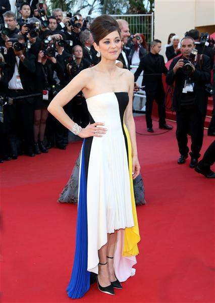 The He Said She Said Experience- Best Dressed 2013-Marion Cotillard in Dior 2013 Cannes Film Festival